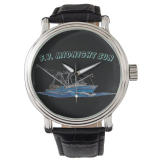 relógio do barco de pesca comercial