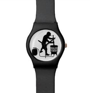 relógio do boilerstatus