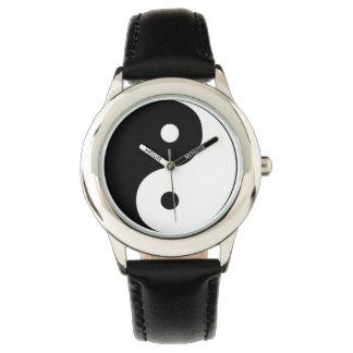 Relógio do brilho de Yin Yang