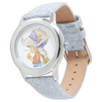 """""""Relógio do brilho do Belle descalço"""" de Sarah Kay Relógio"""