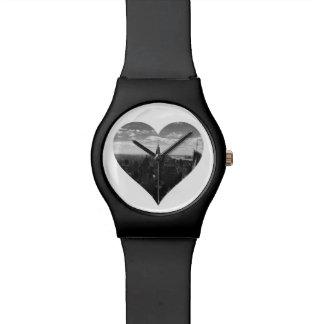 Relógio do coração do estado do império de New