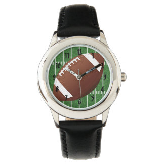 Relógio do design do futebol