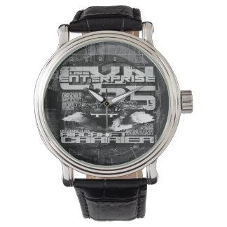 Relógio do eWatch da empresa do porta-aviões