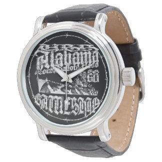 Relógio do eWatch de Alabama da navio de guerra