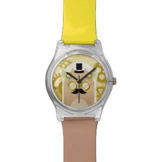 Relógio do gato de Steampunk
