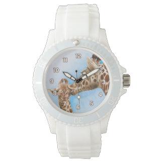 Relógio do girafa & da vitela