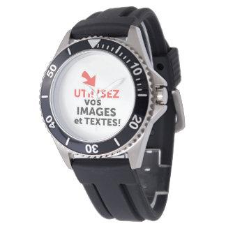 Relógio do-it-yourself-frenchImprimer as vossas concepções