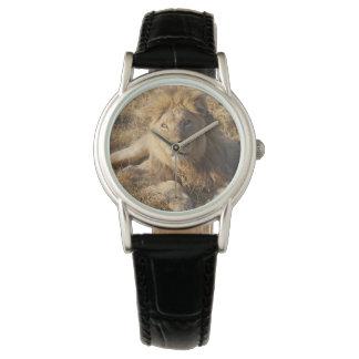 Relógio do leão