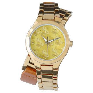 Relógio $ do ouro $