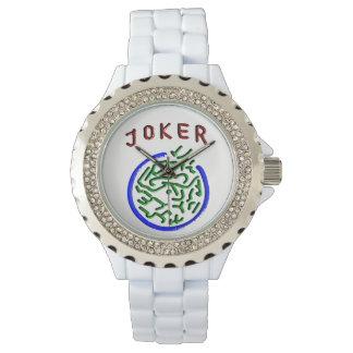 Relógio do palhaço do Mah Jongg