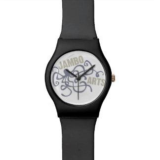 Relógio do polvo das artes de Jambo
