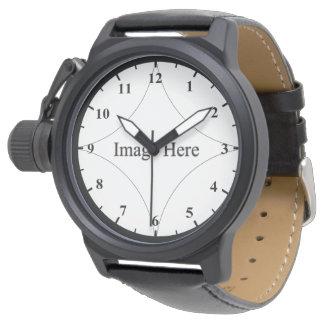 Relógio do protetor da coroa dos homens feitos sob