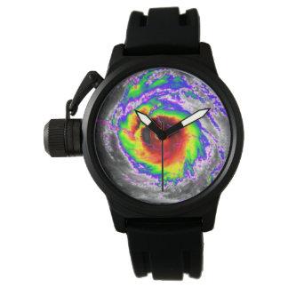 Relógio do radar do furacão