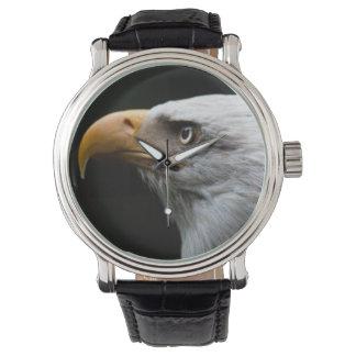 Relógio do retrato de Eagle dos homens