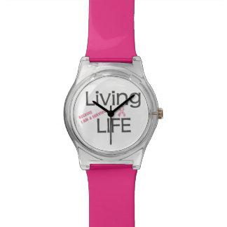 Relógio do sobrevivente do cancro da mama