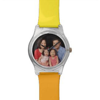 Relógio do teste padrão May28th da família de