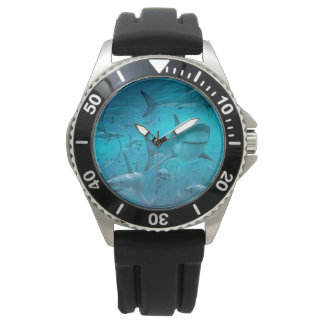 relógio do tubarão