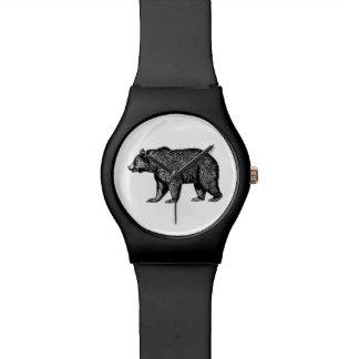 Relógio do urso de urso