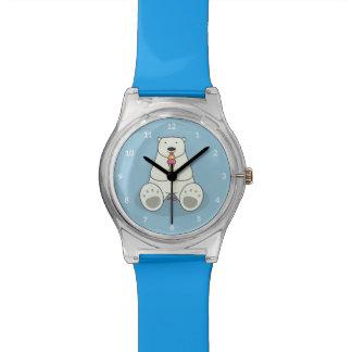 Relógio do urso polar