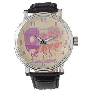Relógio do vagão dos galões do búfalo