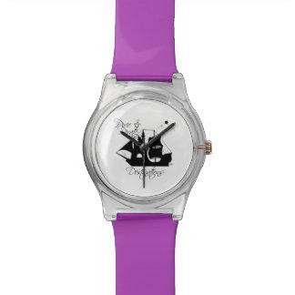 Relógio dos destinos do duende e do pirata