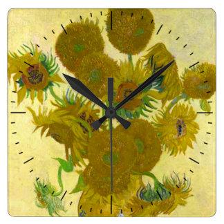 Relógio dos girassóis de Van Gogh