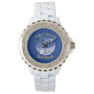 Relógio dos melhores amigos de Halifax Dartmouth