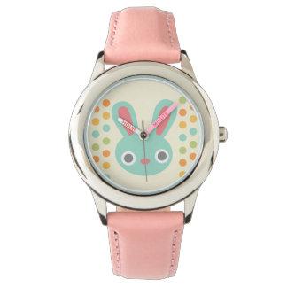 Relógio dos miúdos do coelho