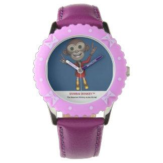 Relógio dos miúdos - Mumbai Monkey™