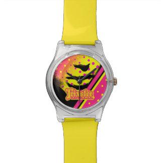 Relógio dos skates de Trixster - rainha retro