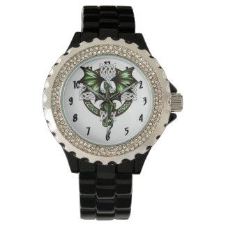 Relógio Dragão celta