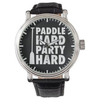 Relógio Duro da pá, duro do partido