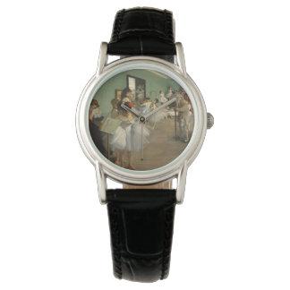 Relógio Edgar Desgaseifica- a classe de dança 1874
