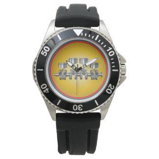 Relógio Eixo de manivela do pistão