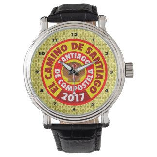 Relógio EL Camino de Santiago 2017
