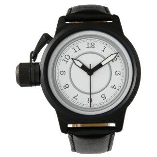 Relógio Elegante simples minimalista moderno