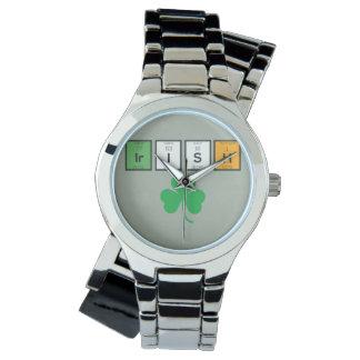 Relógio Elementos químicos irlandeses Zc71n
