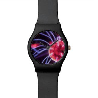 Relógio elétrico do plasma