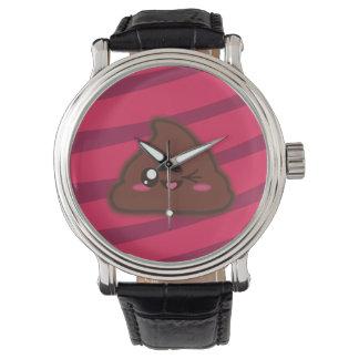 Relógio engraçado do tombadilho de Kawaii
