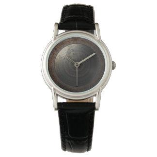 Relógio Engrenagens do metal da horas da lua de Steampunk
