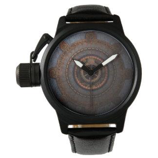 Relógio Engrenagens do metal da horas de Steampunk