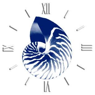 18b018d5f10 Relógio Escudo do nautilus - azuis marinhos e branco