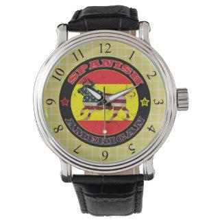 Relógio espanhol de Bull do americano