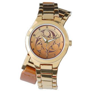 Relógio Espiral celta