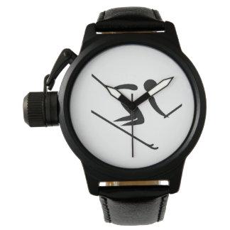 Relógio Esqui alpino da equipe