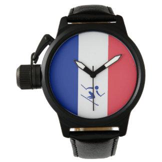 Relógio Esqui alpino France da equipe
