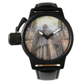 Relógio Estátua de Charles-Emile Freppel, Obernai, France