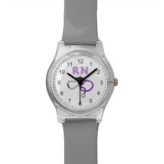 Relógio Estetoscópio do RN das enfermeiras
