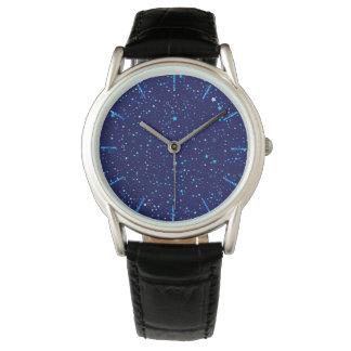 Relógio Estrelas azuis 2