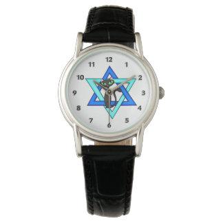 Relógio Estrelas judaicas do gato